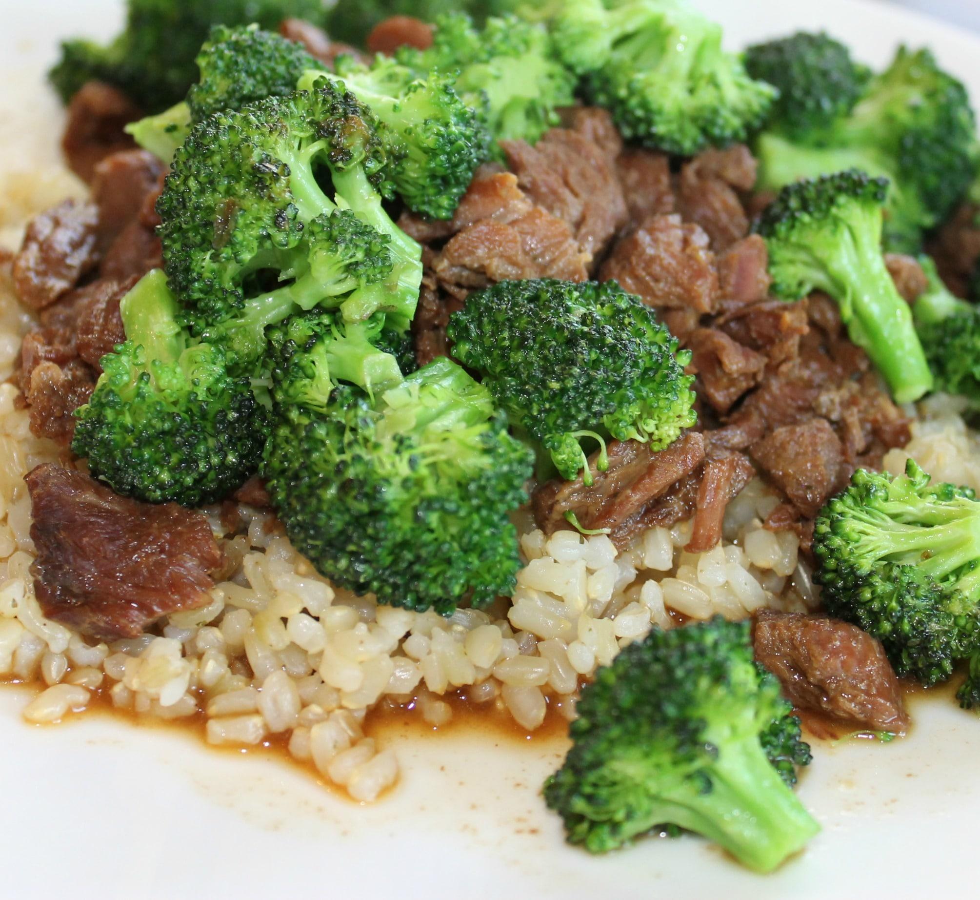 Slow Cooked Beef & Broccoli | thenourishedfamily.com
