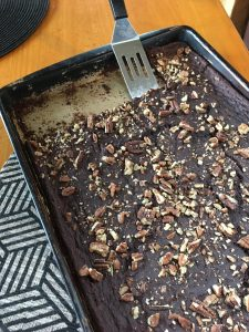 Five Ingredient Brownies | The best ever Paleo brownie. | thenourishedfamily.com