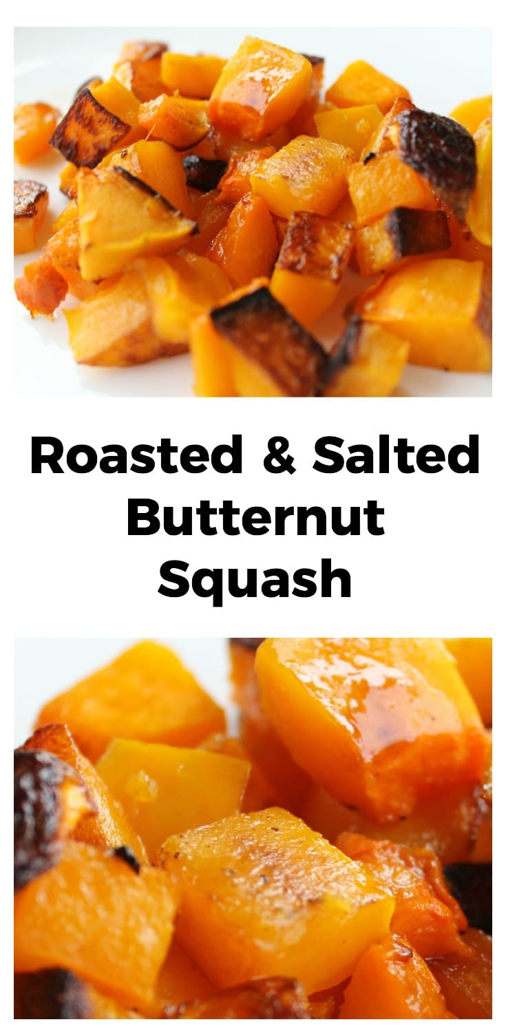 Roasted and Salted Butternut Squash | Health, easy, family recipe, Paleo, Grain free | thenourishedfamily.com