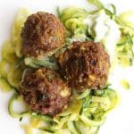 Curry Meatballs | Use lamb or beef to make this healthy meal for your family | thenourishedfamily.com