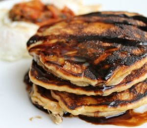 Grain Free Pancakes | An easy Paleo recipe for kids and families | thenourishedfamily.com