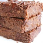 Black Bean Brownies | Healthy, naturally sweetened, vegan, & gluten-free | thenourishedfamily.com