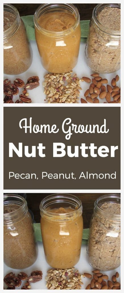 Home Ground Nut Butter | Pecan, peanut, & almond | thenourishedfamily.com