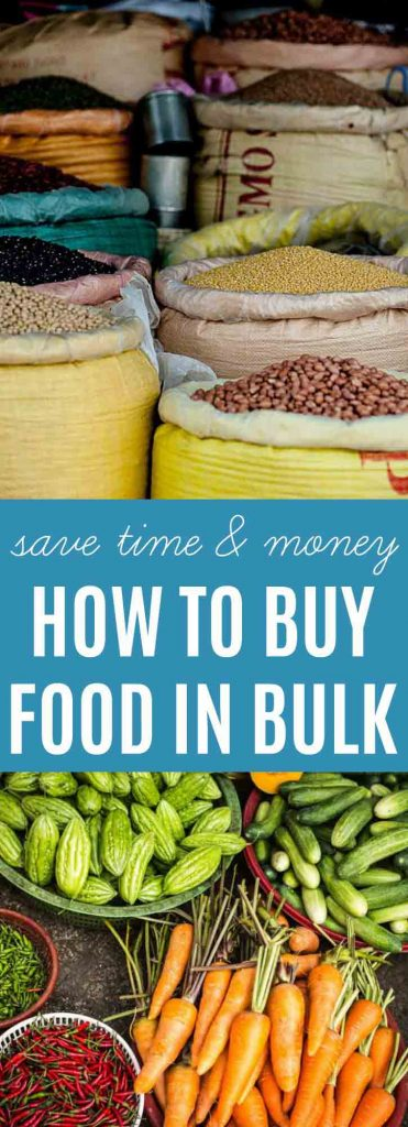 How To Buy Food in Bulk | Save yourself time & money with these tips | thenourishedfamily.com