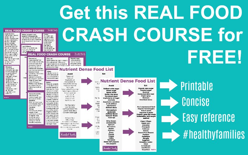 Real Food Crash Course