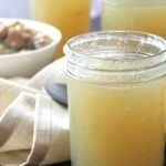 Fast Chicken Bone Broth | A fast way to make bone broth with perfect gelatin every time. Give you body a boost in nutrition and stop leaky gut. | thenourishedfamily.com