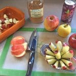 Easy Healthy Gluten-Free Apple Crisp is a yummy desert that is dairy and egg free.A great topping for ice cream, pancakes or waffles and is delicious on ham   thenourishedfamily.com