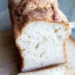 Gluten Free Sandwich Bread: Fall in love with this no-knead, light & fluffy bread. Egg free & dairy free options. The EASIEST & BEST home made gluten free bread recipe! | thenourishedfamily.com