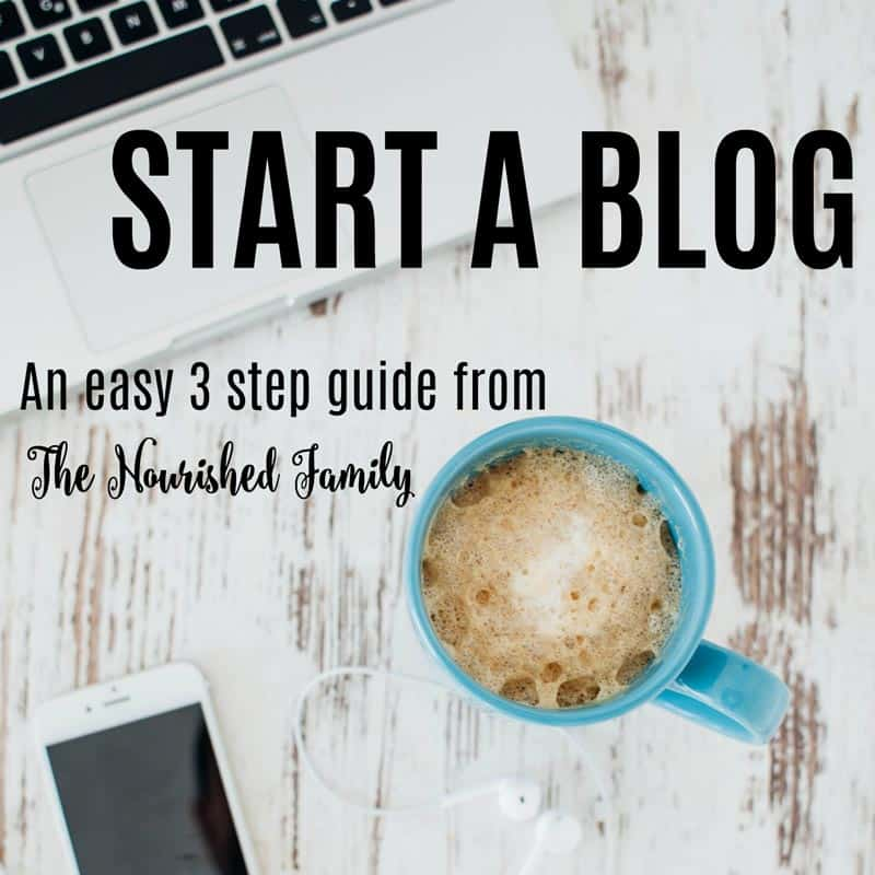 Interested In Starting Your Own Food Blog?