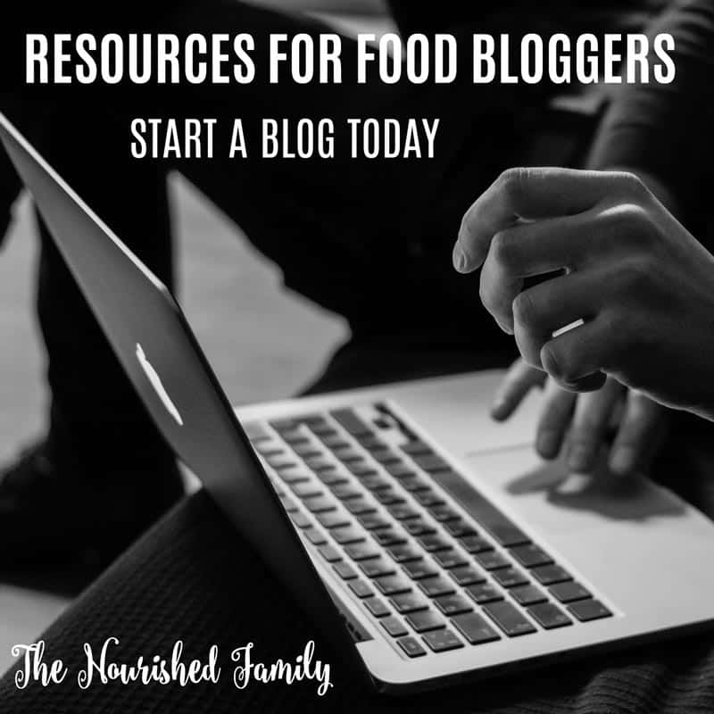 Resources for Food Bloggers | A guide to helping you succeed | thenourishedfamily.com
