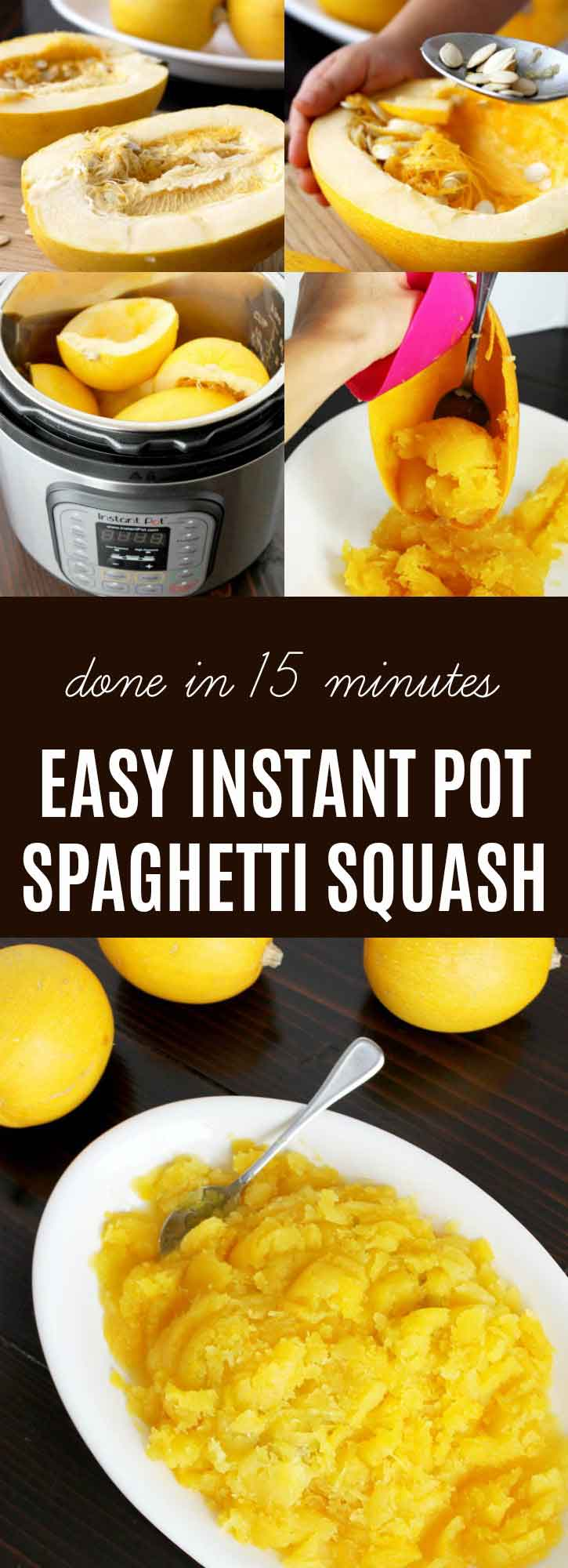 How to Cook Spaghetti Squash {Ultimate Guide} | Are you ready to learn How to Cook Spaghetti Squash? This is the ultimate guide to making perfect squash! Bake, slow cook, pressure cook, or use an Instant Pot. Plus learn my tips & tricks for freezing spaghetti squash. | thenourishedfamily.com