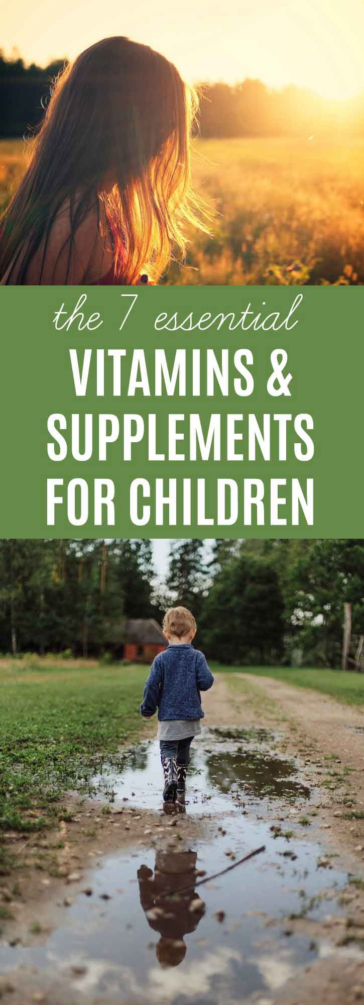 The 7 Best Vitamins & Supplements for Children | thenourishedfamily.com