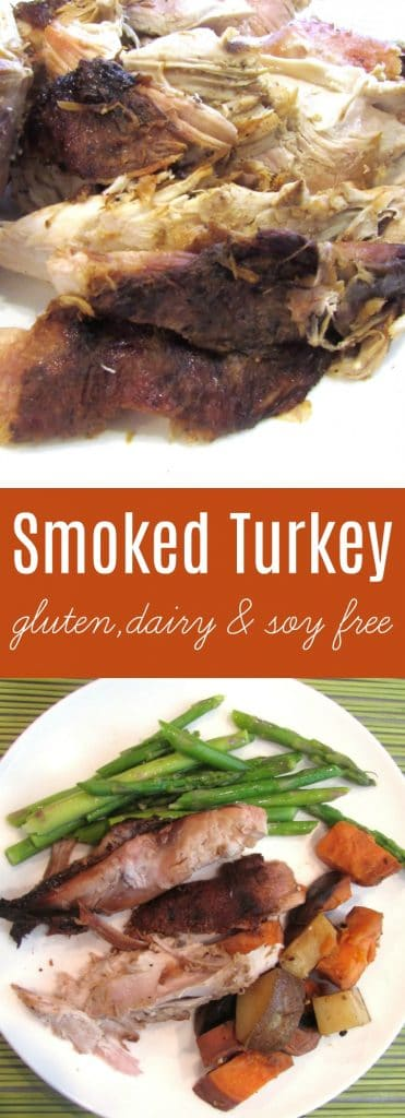 Smoked Turkey | Smoked Turkey is the best when brined and then a Spice Rub is applied to the skin, while the liquids are poured into the body cavity. The flavor is amazing! | thenourishedfamily.com
