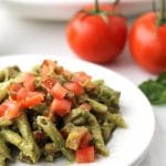 Pesto Chicken Pasta {Healthy}